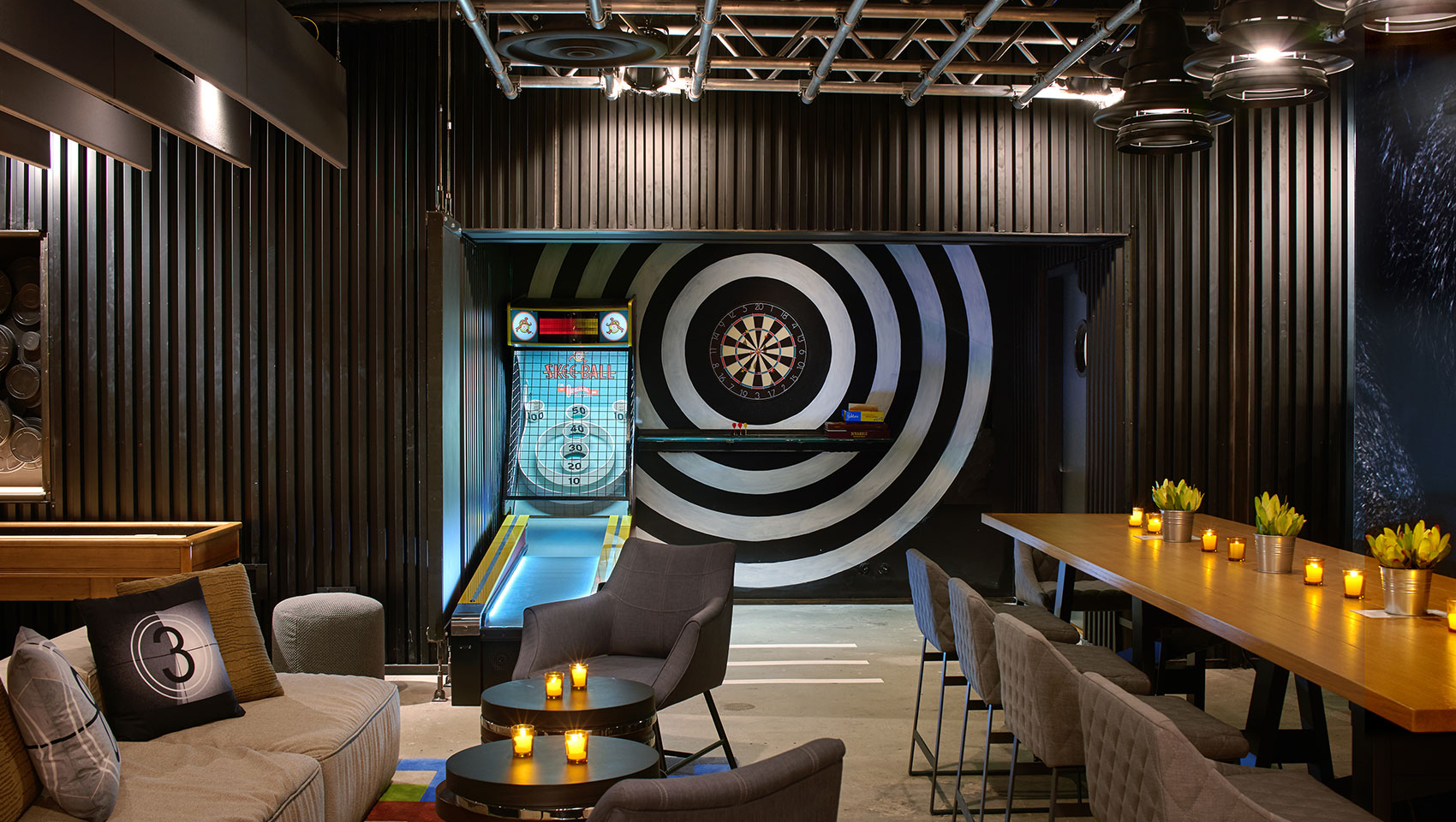 Double Take Game Room Event Space