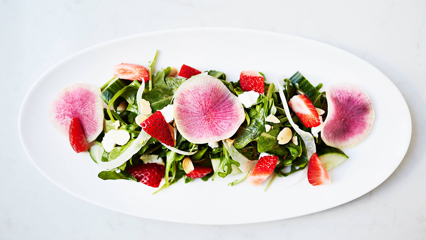 Double Take's strawberry salad