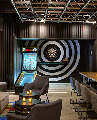 kimpton palomar game room